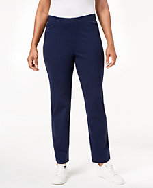 Karen Scott Pull-On Comfort Pants, Created for Macy's