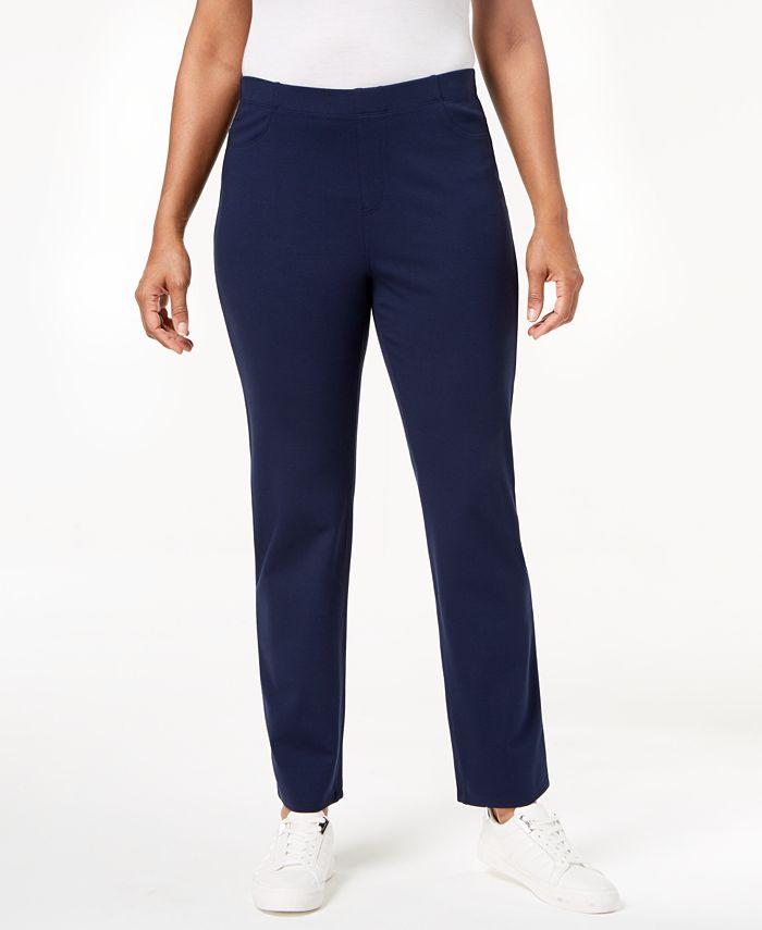 Karen Scott - Pull-On Comfort Pants