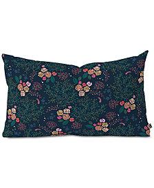 Deny Designs Iveta Abolina Camellia Garden Oblong Throw Pillow