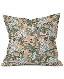 Deny Designs Marta Barragan Camarasa Jungle Drawing Throw Pillow