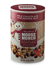 Harry & David's Macadamia Moose Munch Gourmet Popcorn Holiday Canister