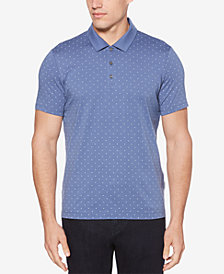 Perry Ellis Men's Printed Cotton Classic Fit Polo