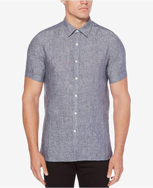 Perry Ellis Men's Button-Front Shirt