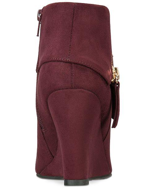 150a9dfc8bd ZIGIny Rebel by Zigi Women s Ksenia Wedge Booties   Reviews - Boots ...