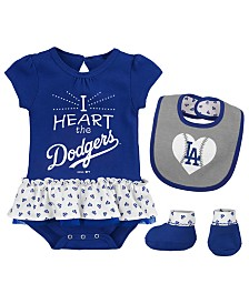 2548fc83570 MLB Baby Girl (0-24 Months) Kids Sports Fan Gear  Clothing