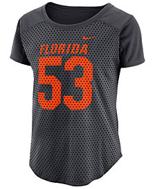 Nike Women's Florida Gators Jersey Mesh Fan T-Shirt