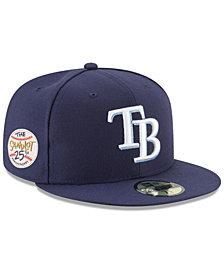 New Era Tampa Bay Rays Sandlot Patch 59Fifty Fitted Cap
