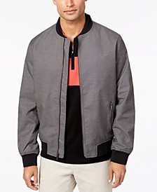 Men's Ribbed Bomber Jacket, Created for Macy's