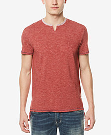 Buffalo David Bitton Men's Split-Neck T-Shirt