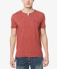 Buffalo David Bitton Men's Split-Neck T-Shirt