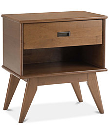 Ednie Bedside Table, Quick Ship