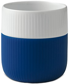 Royal Copenhagen Mega Blue Fluted Contrast Mug