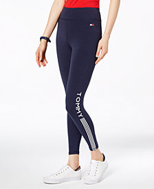 Tommy Hilfiger Sport Logo-Print Leggings, Created for Macy's
