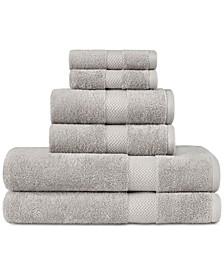 Cypress Bay 100% Cotton 6-Pc. Towel Set