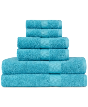 Tommy Bahama Cypress Bay Cotton Terry 6Pc Towel Set Bedding