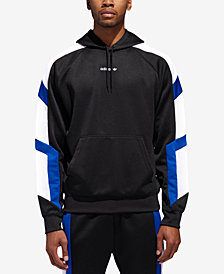adidas Men's Equipment Colorblocked-Sleeve Hoodie