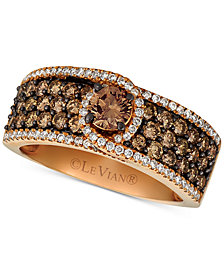 Le Vian® Diamond Statement Ring (1-3/4 ct. t.w.) in 14k Rose Gold