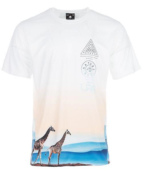 8e569d7e9 LRG Men's Giraffe Wave Graphic Short-Sleeve T-Shirt - T-Shirts - Men ...