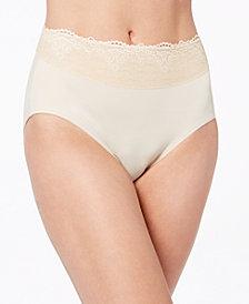 Bali Women's Passion For Comfort Lace-Waist Brief Underwear DFPC61