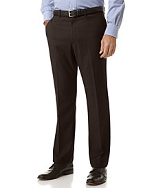 Perry Ellis Portfolio Slim Fit Flat Front No Iron Dress Pants