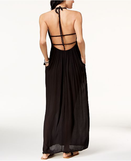 Raviya Strappy Back Maxi Dress Cover Up Swimwear Women Macys