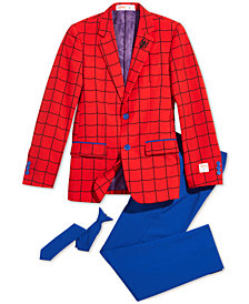 OppoSuits Big Boys 3-Pc Spider-Man™ Suit & Tie Set