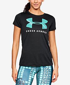 Under Armour UA Tech™ Logo Printed T-Shirt