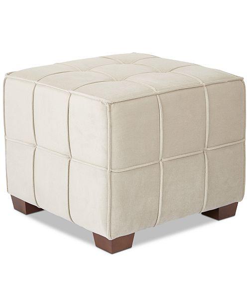 Furniture CLOSEOUT! Ebratt Ottoman, Quick Ship