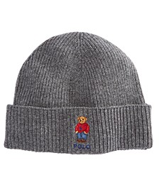 Men's Polo Bear Cuffed Hat