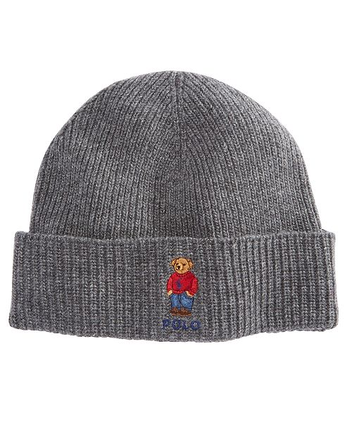 Polo Ralph Lauren Men s Polo Bear Cuffed Hat - Hats 200a52d4445