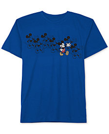 Little Boys Mickey Mouse Graphic-Print Cotton T-Shirt