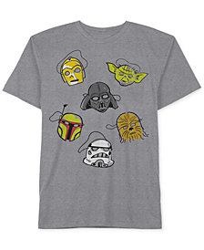 Star Wars Little Boys Face Masks Graphic-Print T-Shirt