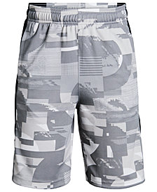 Under Armour Big Boys Printed Baseline Shorts
