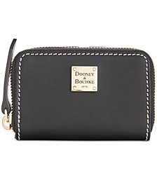Dooney & Bourke Beacon Zip Around Credit Card Case