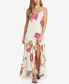 Billabong Juniors' Kick It Up Floral-Print Dress