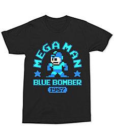 Changes Men's Mega Man Blue Bomber Graphic T-Shirt