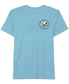 Hybrid Men's Snoopy Nerdy By Nature Graphic T-Shirt
