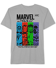 Hybrid Men's Marvel Avengers NYC Graphic T-Shirt