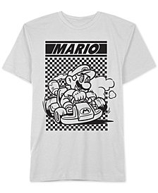 Hybrid Men's Mario Kart Graphic T-Shirt