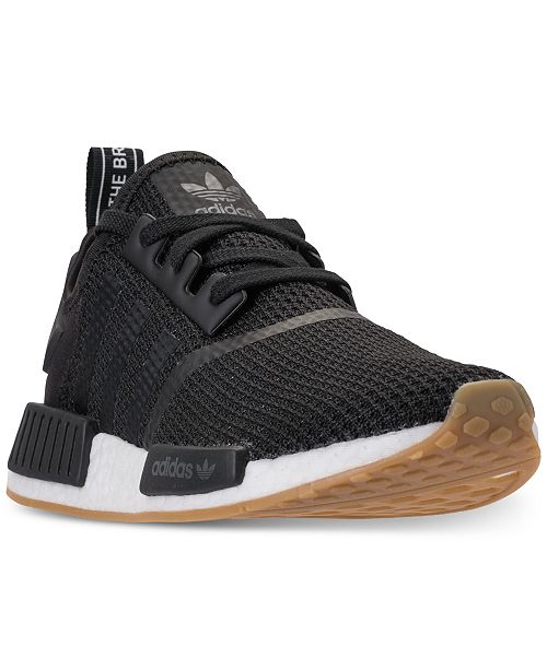 Adidas Men S Nmd R1 Casual Sneakers From Finish Line Reviews