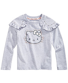 Hello Kitty Toddler Girls Stud-Trim Top