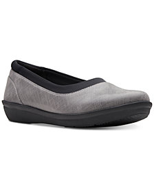 Clarks Collection Women's Ayla Pure Cloudsteppers Flats, Created for Macy's