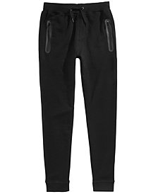Univibe Big Boys Channing Zip-Pocket Jogger Pants