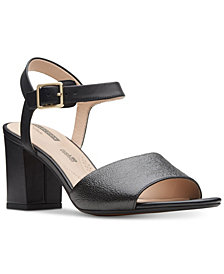 Clarks Collection Women's Deva Quest Dress Sandals