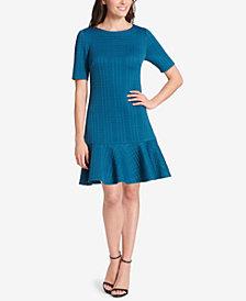 Jessica Howard Textured Drop-Waist Dress