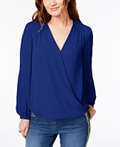 ce05010b568 womens wrap tops - Shop for and Buy womens wrap tops Online - Macy s