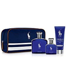 Ralph Lauren Men's 4-Pc. Polo Blue Travel Set