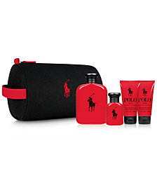 Ralph Lauren Men's 5-Pc. Polo Red Travel Set