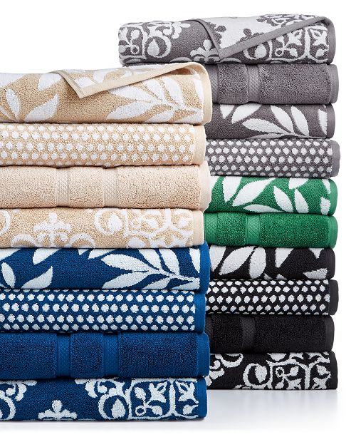 Charter Club Elite Mix & Match Bath Towel Collection, Created for ...