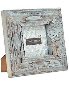 "Godinger 4"" x 4"" Gray Barn Square Picture Frame"